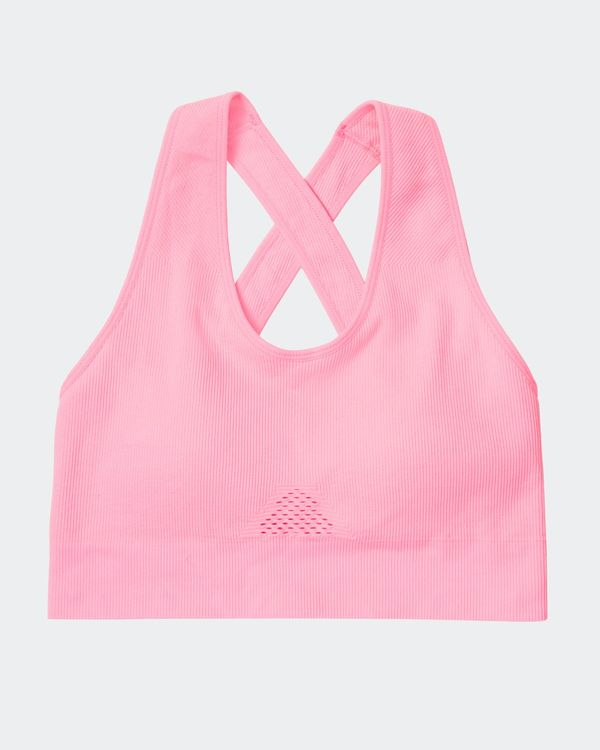 Ribbed Seamfree Sports Bra