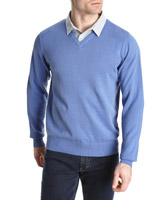 violet Regular Fit Mock Shirt Jumper