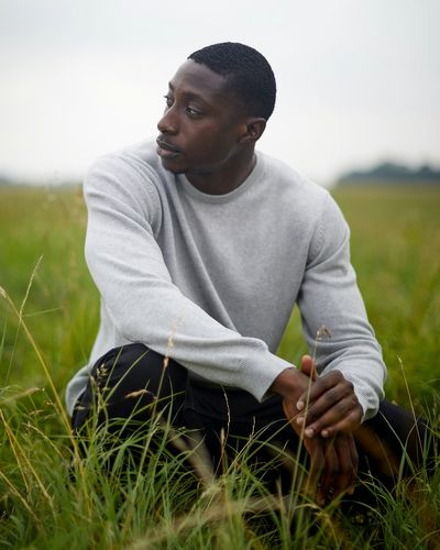 Regular Fit Cotton Crew-Neck Jumper thumbnail