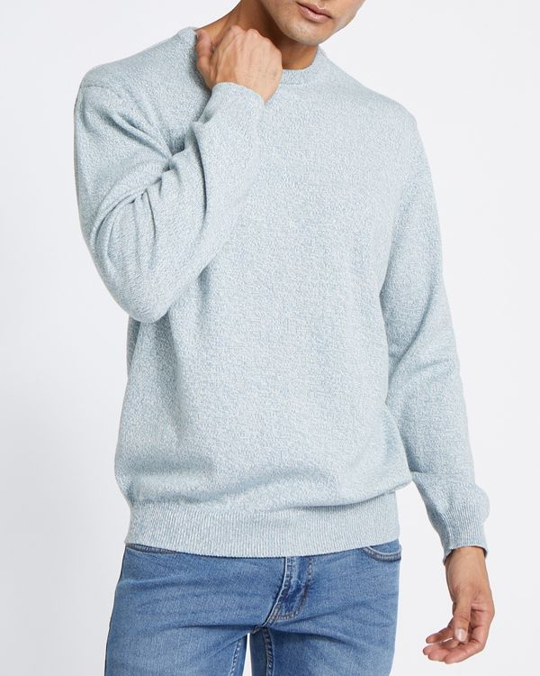 Regular Fit Cotton Crew-Neck Jumper