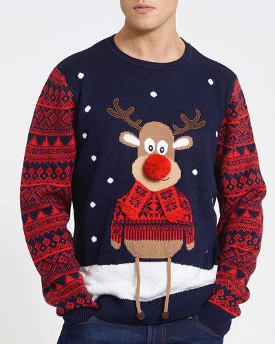 Christmas Family Reindeer Jumper