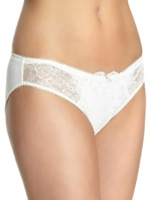 ivory Angelique Embroidered Briefs