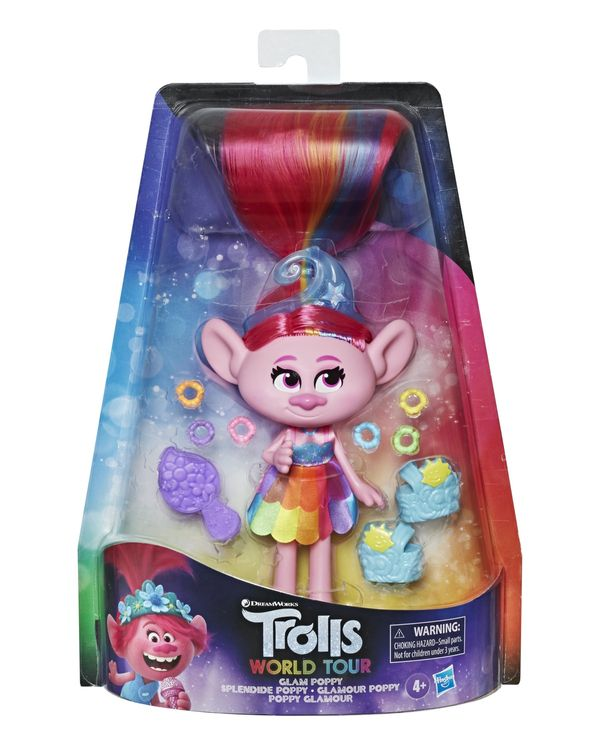 Trolls Glam Poppy Doll