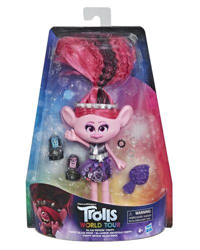 Trolls Glam Rockin Poppy Doll
