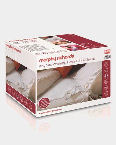 Morphy Richards King Size Washable Heated Underblanket