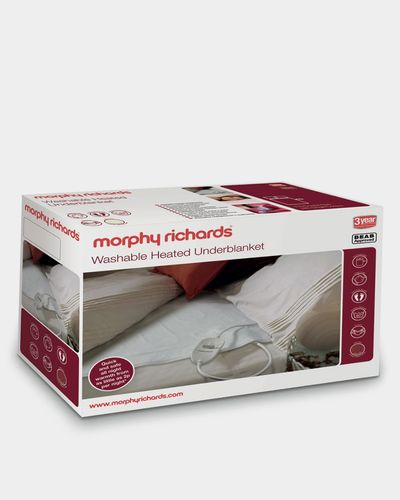 Morphy Richards Single Washable Heated Underblanket