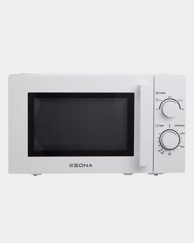 Sona White Microwave
