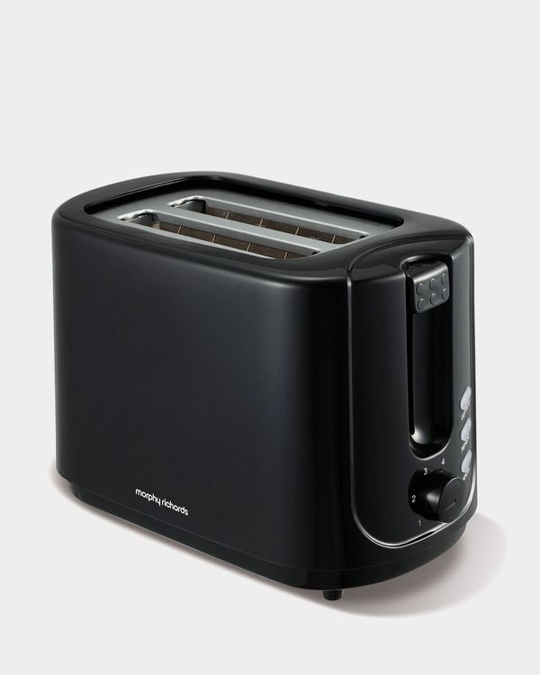 Morphy Richards Black 2 Slice Toaster