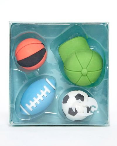 Scented Sports Eraser Collection