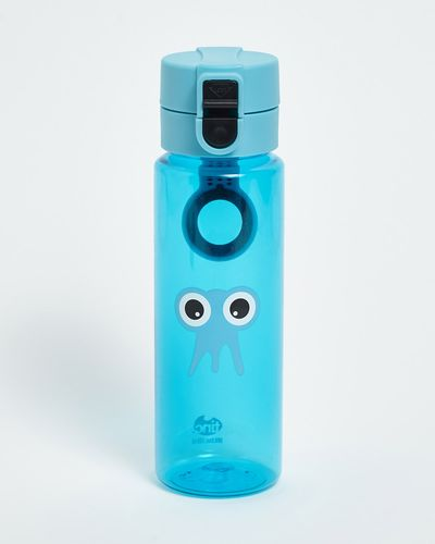 Water Bottle Blue Flip And Clip