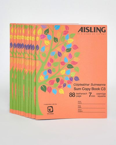 Aisling 88pg Sum Copy Book - Pack Of 10