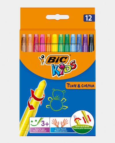 Bic Turn And Colour Crayons - Pack Of 12