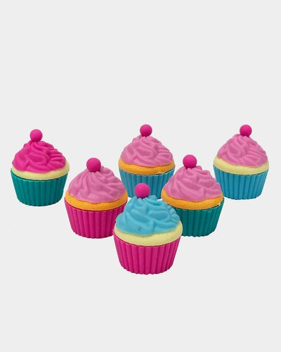 Tinc Set Of 6 Cupcake Erasers