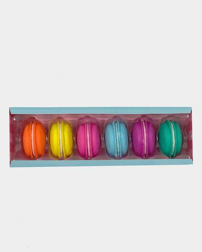 Tinc Set Of 6 Macaroon Erasers