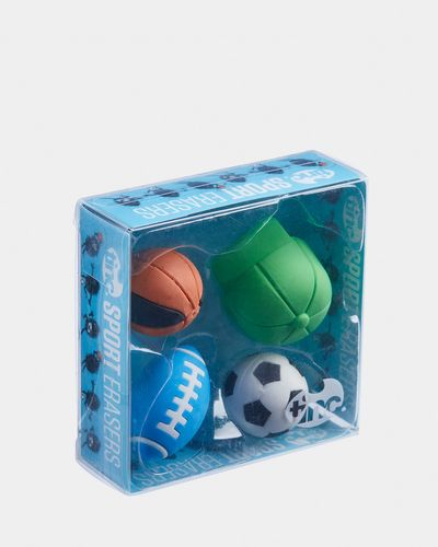 Tinc Set Of 4 Sport Erasers