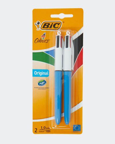 Bic 4 Colour Pen Twin Pack