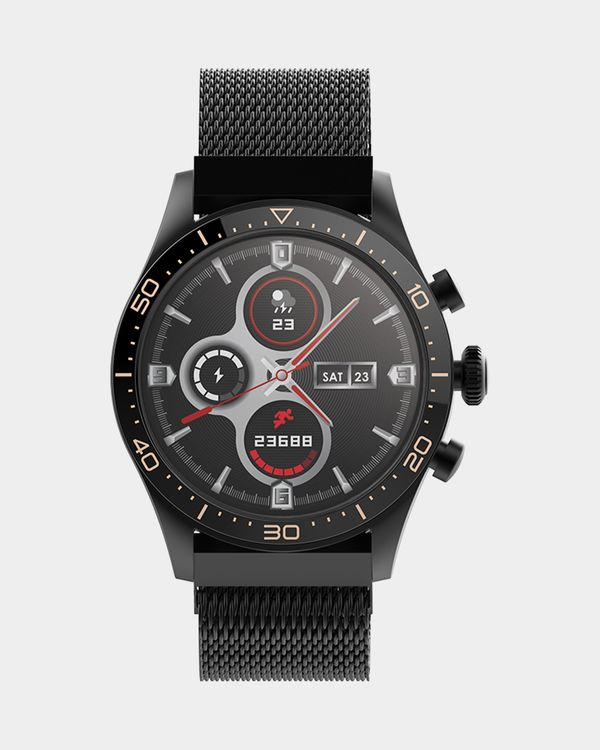Forever Icon AW-100 AMOLED Smartwatch Black