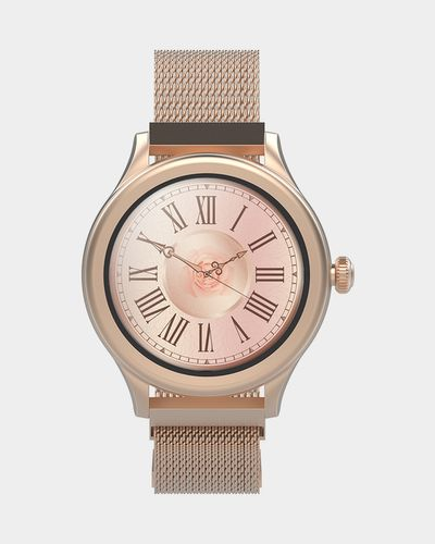 Forever Icon AW-100 AMOLED Smartwatch Gold thumbnail
