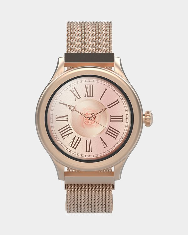 Forever Icon AW-100 AMOLED Smartwatch Gold