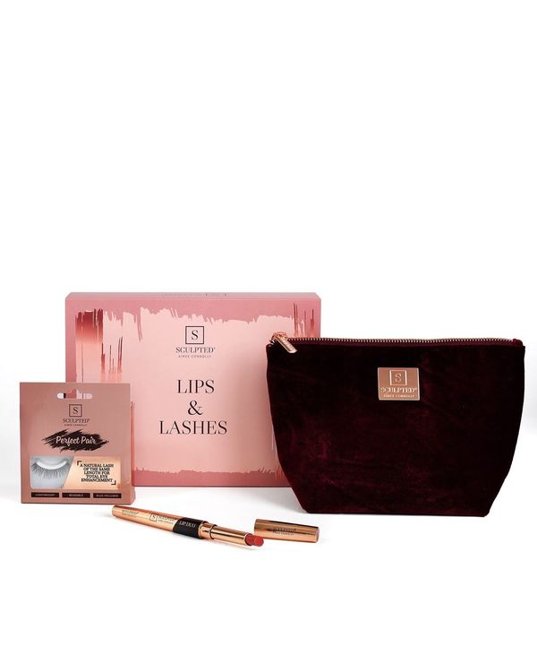 Sculpted Lips And Lashes Gift Set