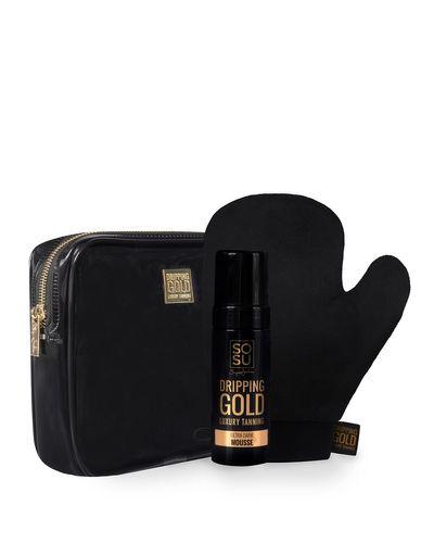 SOSU Dripping Gold Perfect Pair Ultra Dark Luxury Tanning Mousse Gift Set