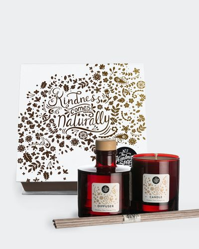 Cinnamon Candle and Diffuser Set