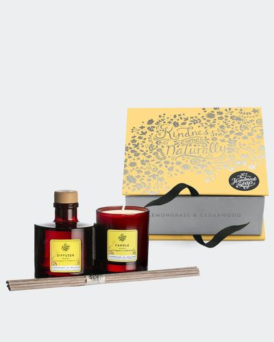 Lemongrass Candle And Diffuser Set
