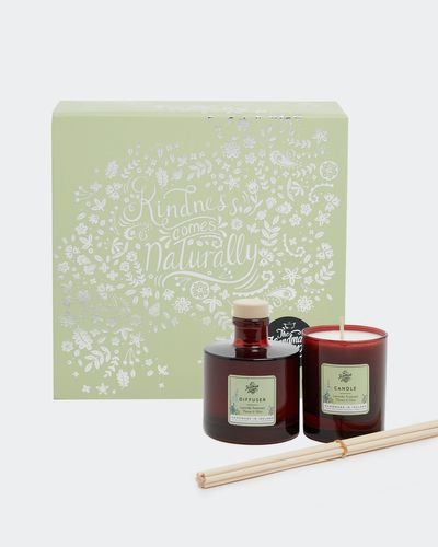 Lavender Candle And Diffuser Set