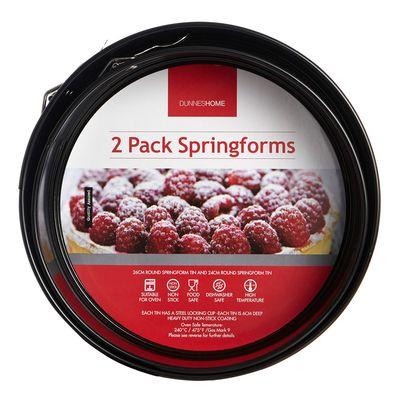 Springform Tins - Pack Of 2