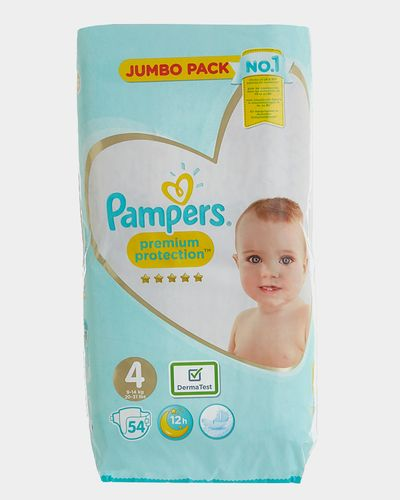Pampers Premium Protection Jumbo Size 4: 54 Nappies