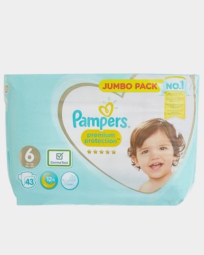 Pampers Premium Protection Jumbo Size 6: 43 Nappies