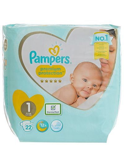 Pampers New Baby Size 1: Carry Pack - 22 Nappies