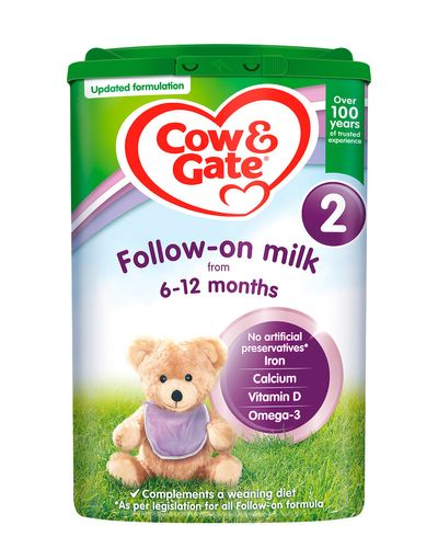 Cow and Gate 2 Follow On Milk Powder - 800g thumbnail