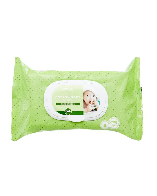 Dunnes Stores Baby Wipes Fragrant - Pack Of 64