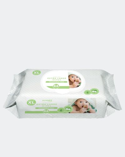Dunnes Stores XL Fragrance Free Wipes - Pack Of 64 thumbnail