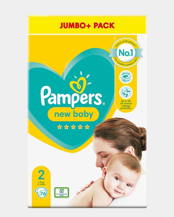 Pampers New Baby Size 2 Jumbo - Pack Of 76