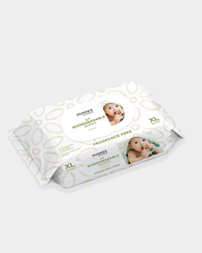 Dunnes Stores Bio XL Fragrance Free Wipes - Pack Of 64