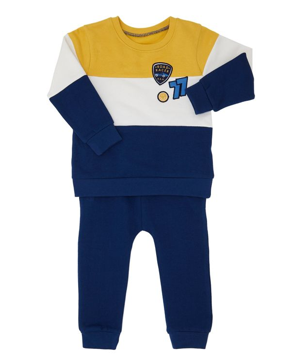 Colour Block Set (6 months-4 years)