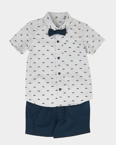 Bow Tie Short Set (6 months-4 years)