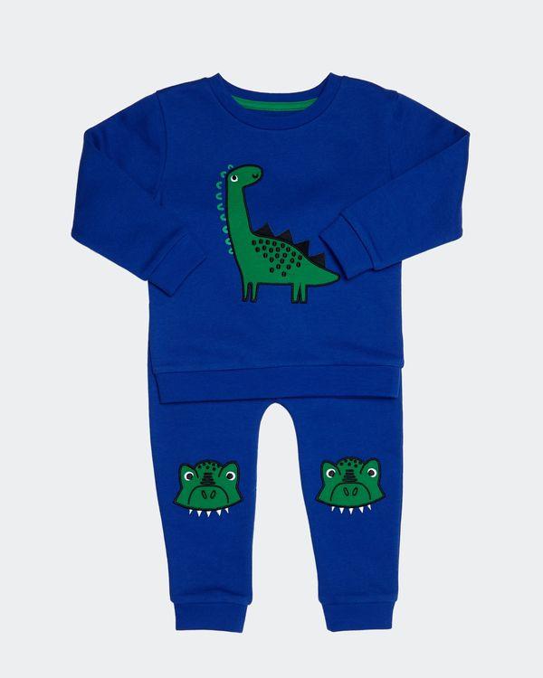 Dino Applique Jog Set (0 months - 4 years)