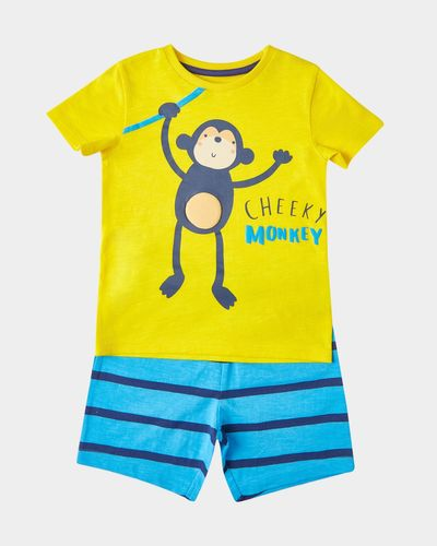 Short And T-Shirt Set (6 months-4 years)