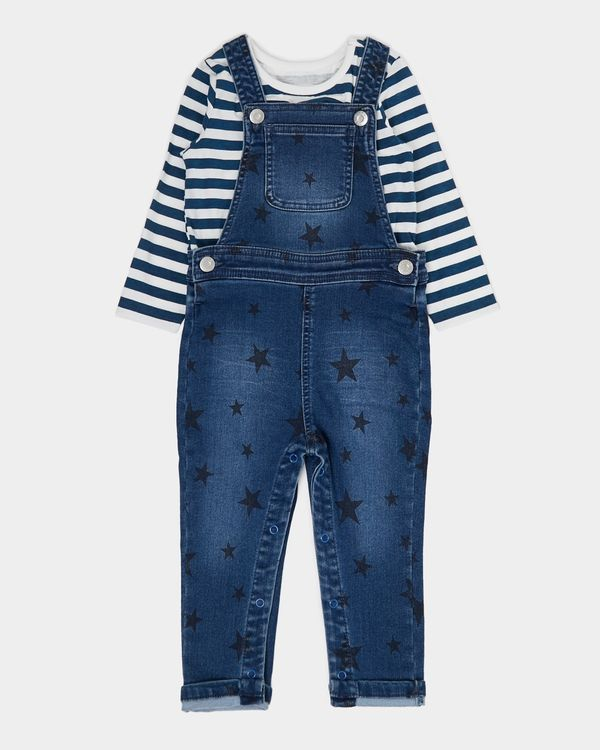 Star Dungaree Set (0 months - 3 years)