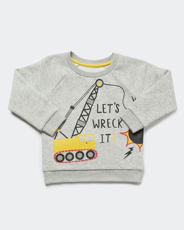 Boys Crew-Neck Sweatshirt (0 months-4 years)