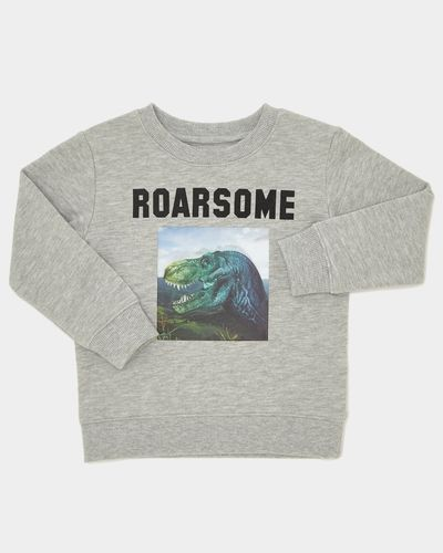 Boys Dino Holographic Sweater (9 months - 4 years)
