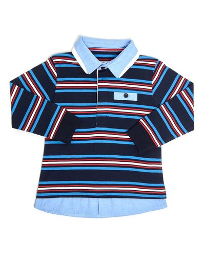 Double Collar Rugby Top (6 months-4 years) thumbnail
