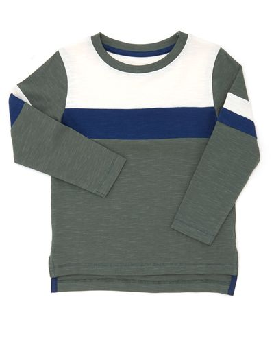 Cut And Sew Long-Sleeved Top (6 months-4 years)