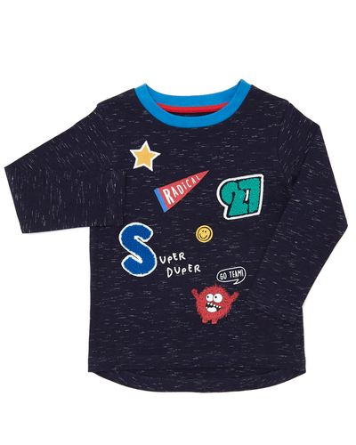 Applique Long-Sleeved Top (6 months-4 years)