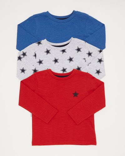 Toddler Long Sleeve Top - Pack Of 3
