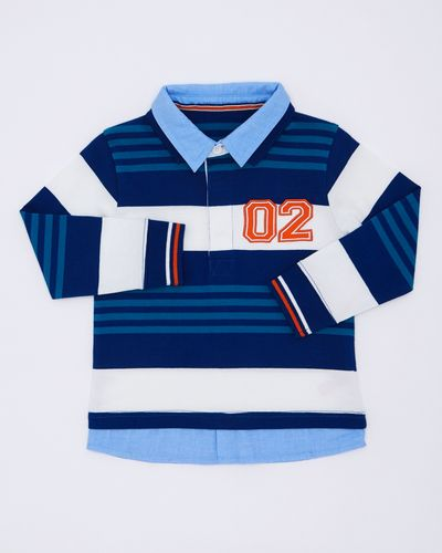 Boys Double Collar Rugby Shirt (6 months-4 years)