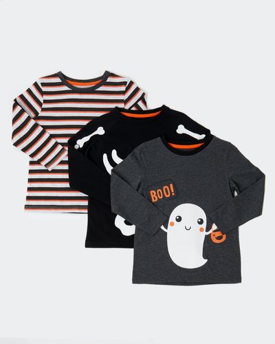 Long-Sleeved Tops - Pack Of 3 (6 months-4 years) thumbnail